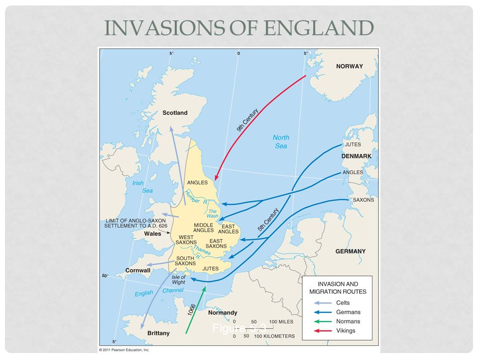 INVASIONS OF ENGLAND Figure 5-3