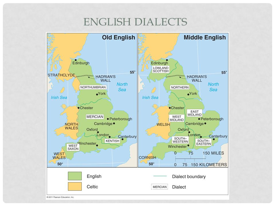 ENGLISH DIALECTS Figure 5-5
