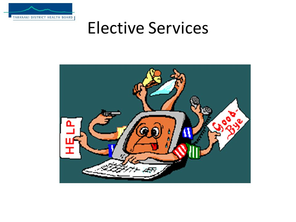 Elective Services