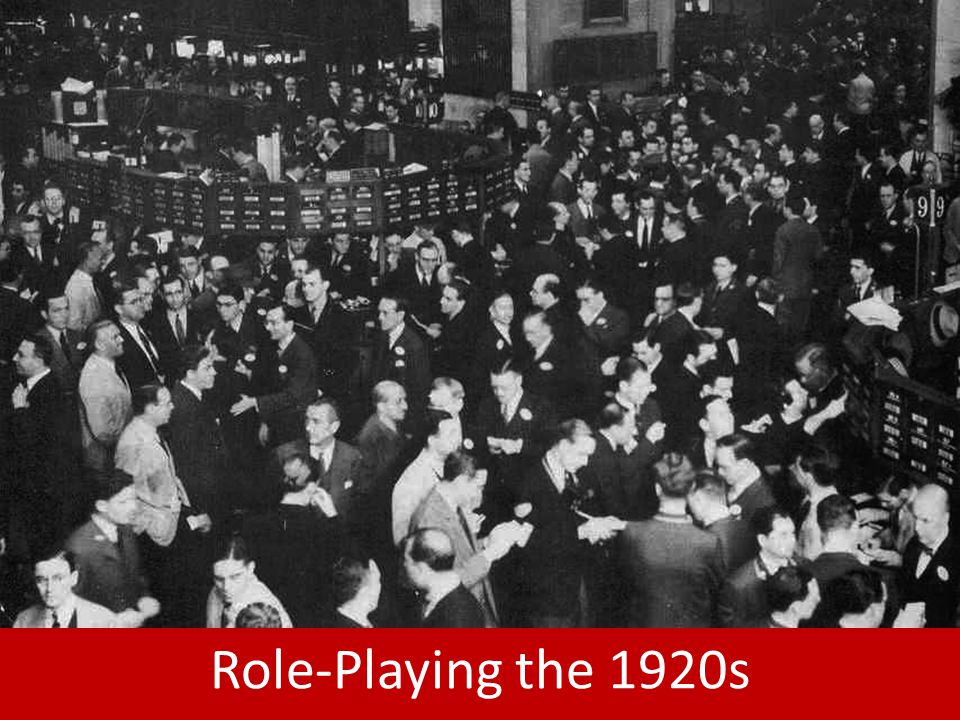 Role-Playing the 1920s