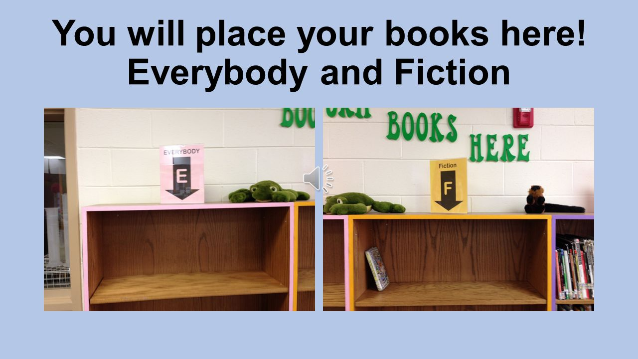 Check your books IN