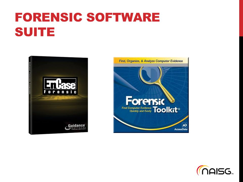 FORENSIC SOFTWARE SUITE