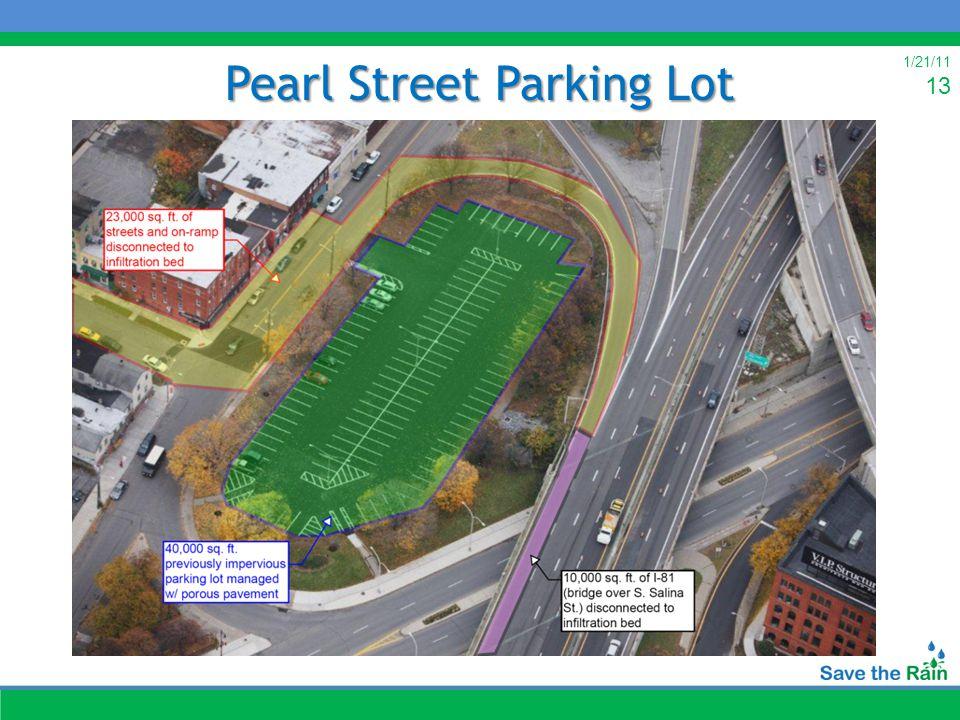 1/21/11 13 Pearl Street Parking Lot