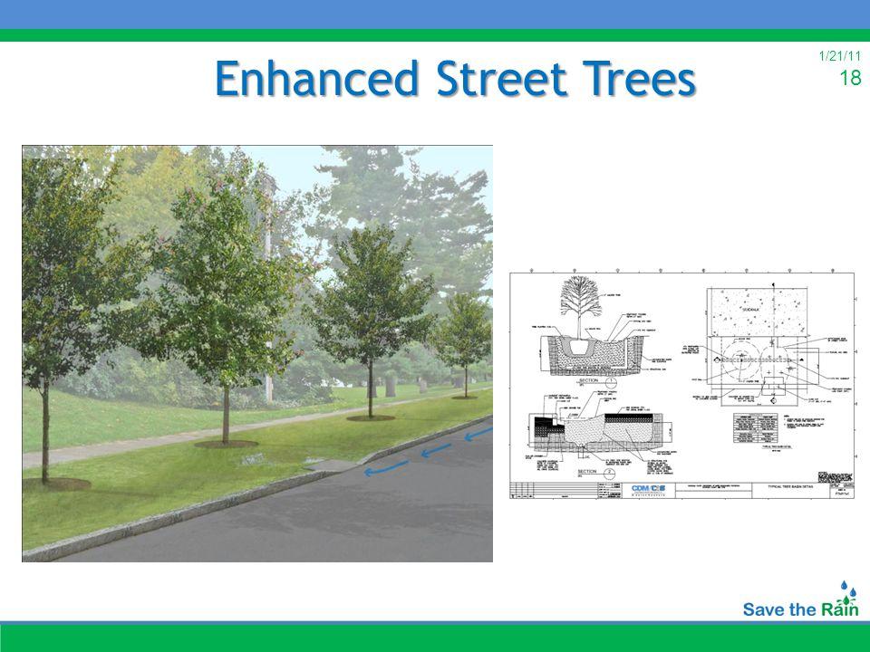 1/21/11 18 Enhanced Street Trees