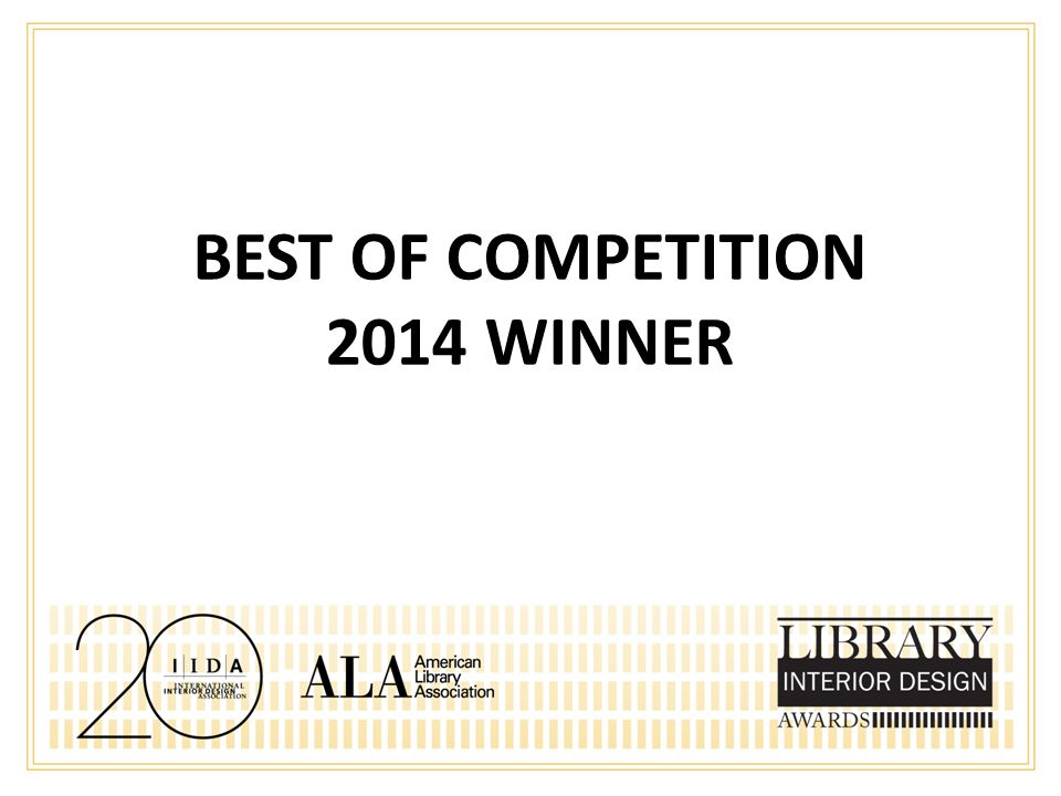 BEST OF COMPETITION 2014 WINNER
