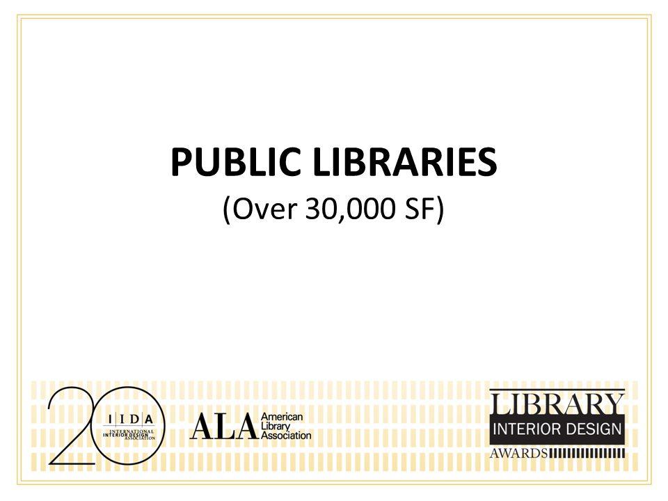 HONORABLE MENTION Academic Libraries – Under 30,000 SF Joel Sanders Architect New York, NY Education Commons, University of Pennsylvania Pennsylvania, PA