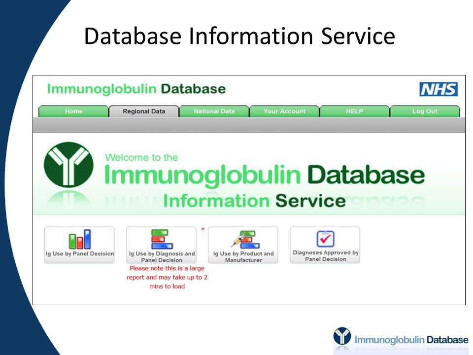 Database Information Service