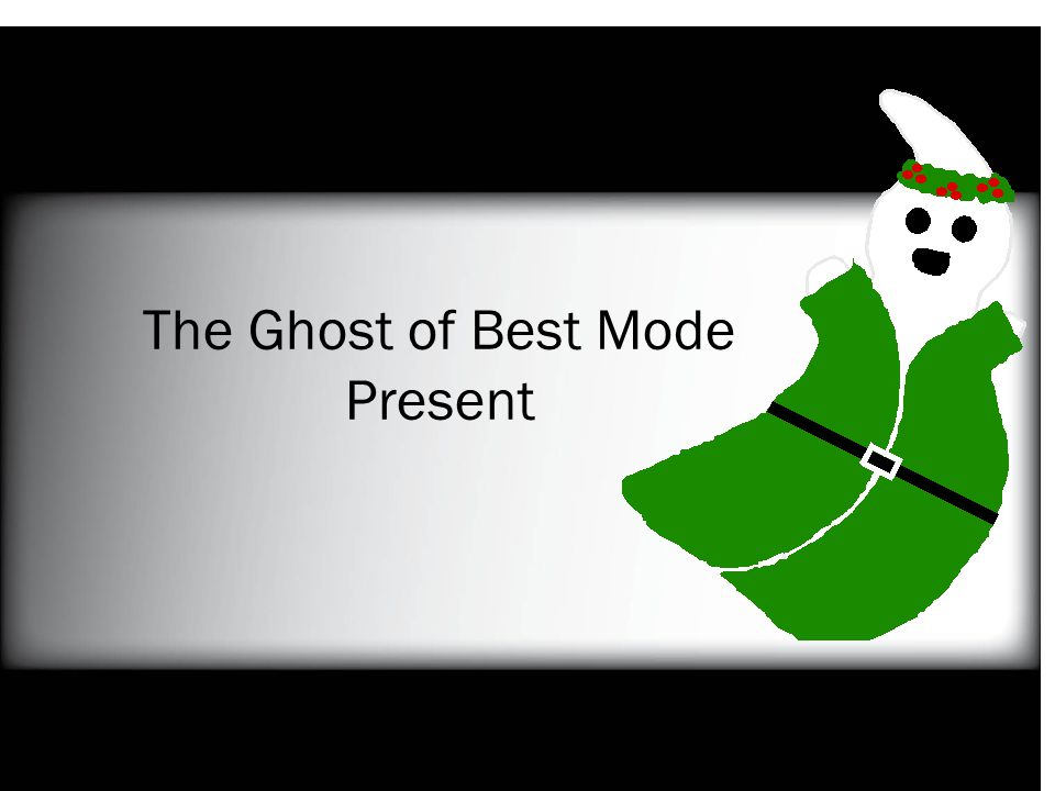 The Ghost of Best Mode Present