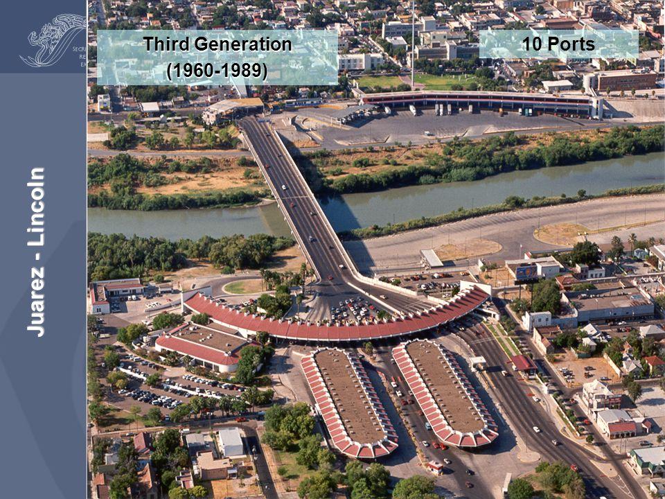 Juarez - Lincoln Third Generation (1960-1989) 10 Ports