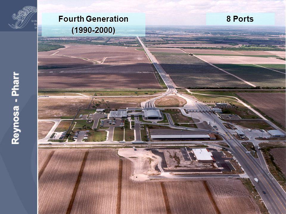 Reynosa - Pharr Fourth Generation (1990-2000) 8 Ports