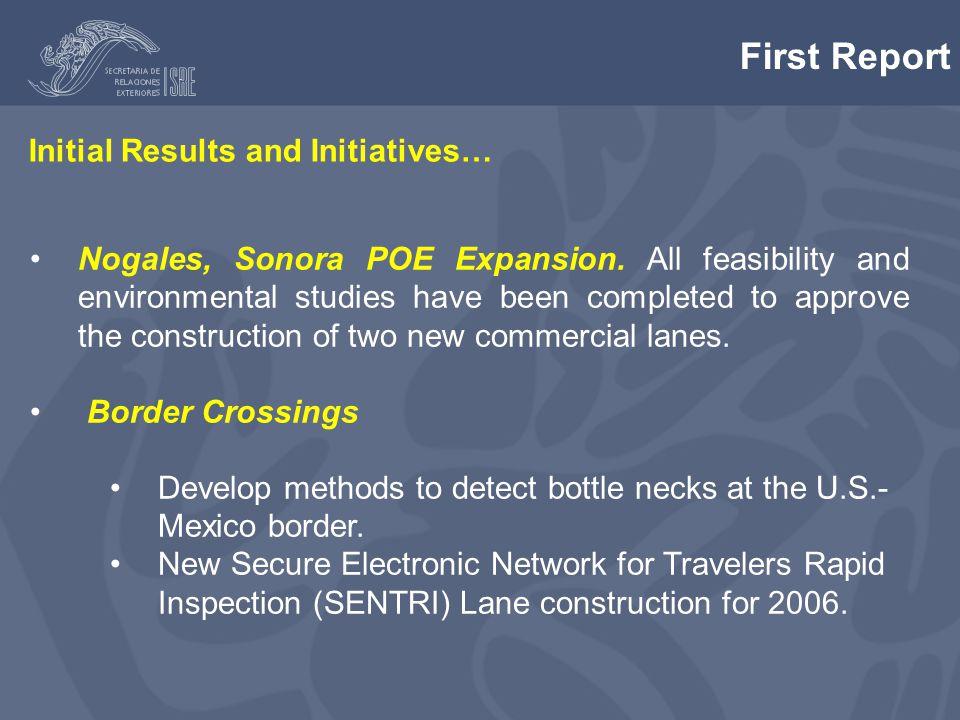 Nogales, Sonora POE Expansion.