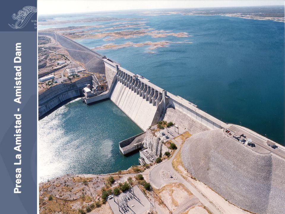 Presa La Amistad - Amistad Dam