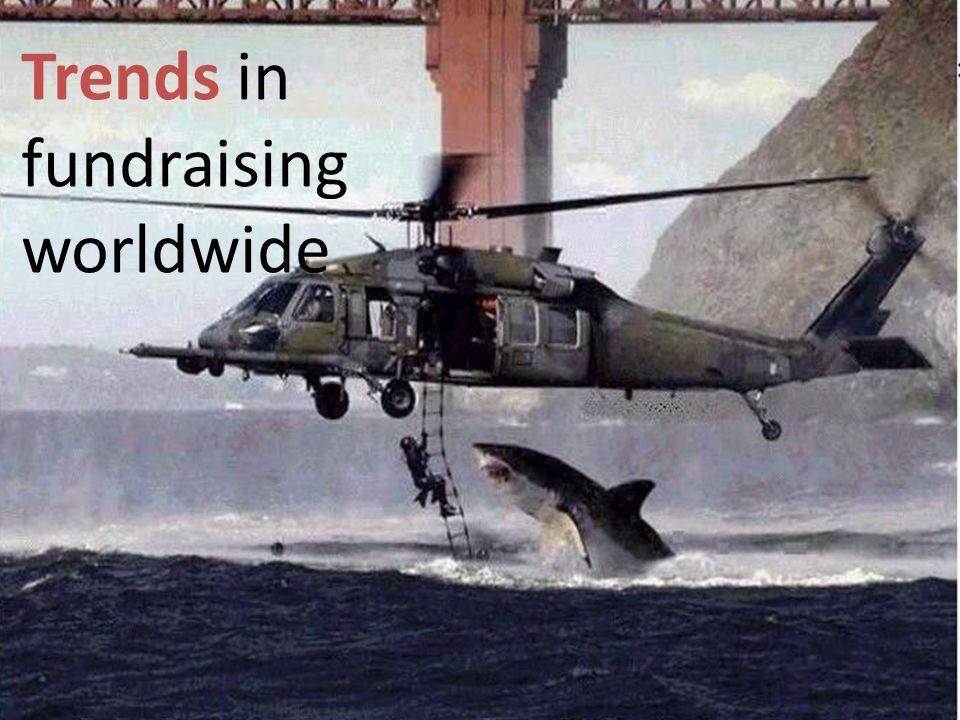 Trends in fundraising worldwide