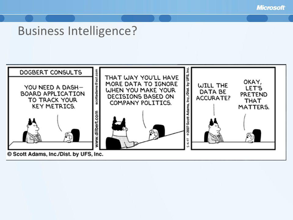 Business Intelligence?