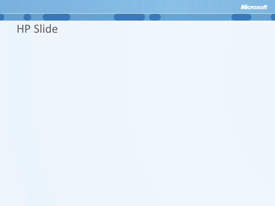 HP Slide