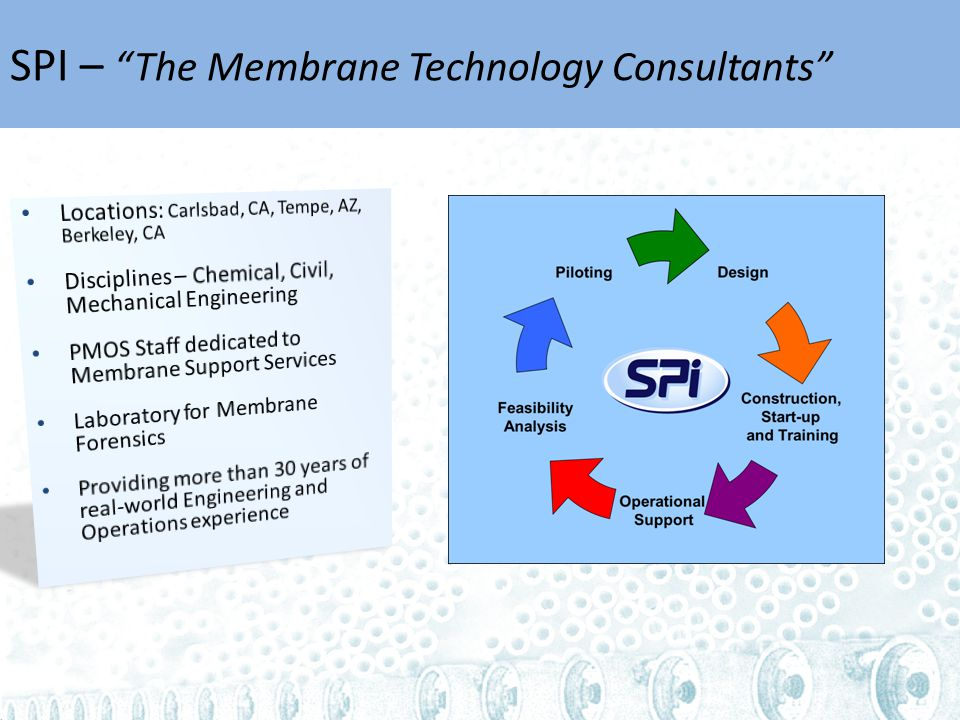 SPI – The Membrane Technology Consultants