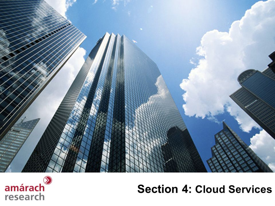 Section 4: Cloud Services