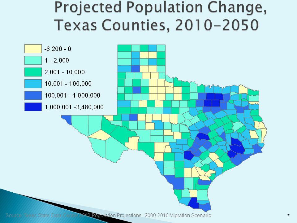 8 Percent Increase 1.Midland, Texas4.6 2.Clarksville, Tenn.-Ky.3.7 3.