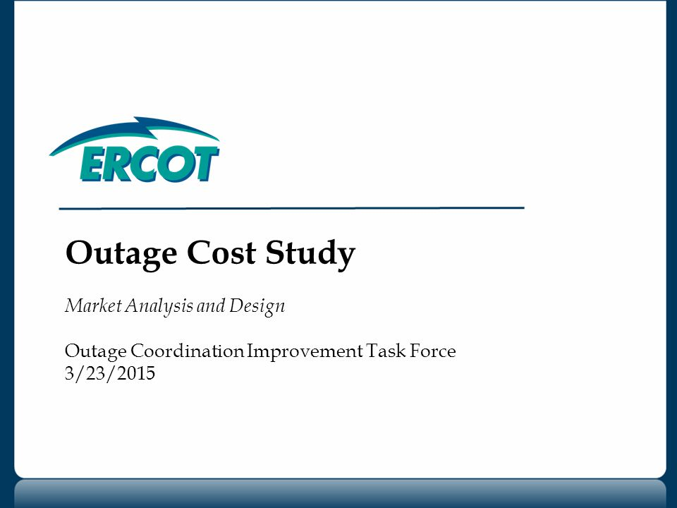 OCITF 3/23/2015 2 Study Objective Evaluate factors affecting predictability of congestion rent associated with hypothetical outages Congestion Rent: Marginal cost of the constraint times the flow across the element.