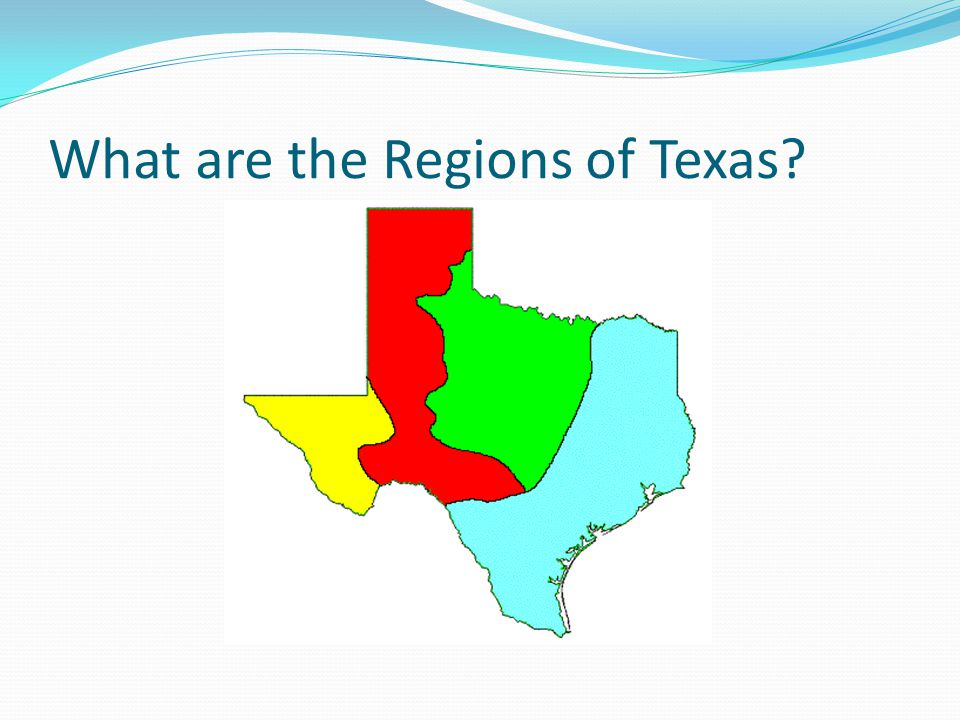 What are the Regions of Texas?