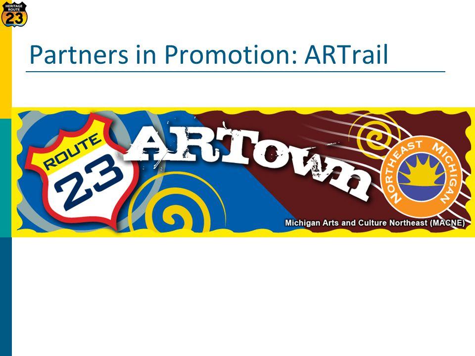 Partners in Promotion: ARTrail