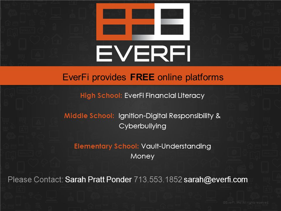 ©EverFi, Inc. All rights reserved.