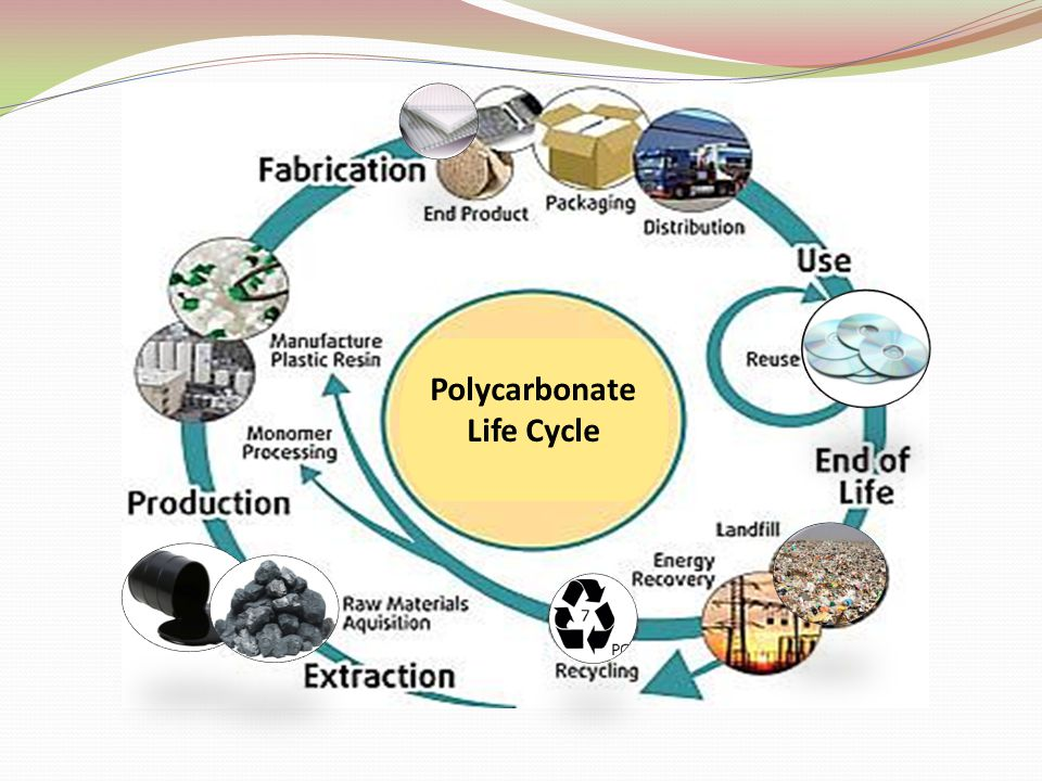 Polycarbonate Life Cycle