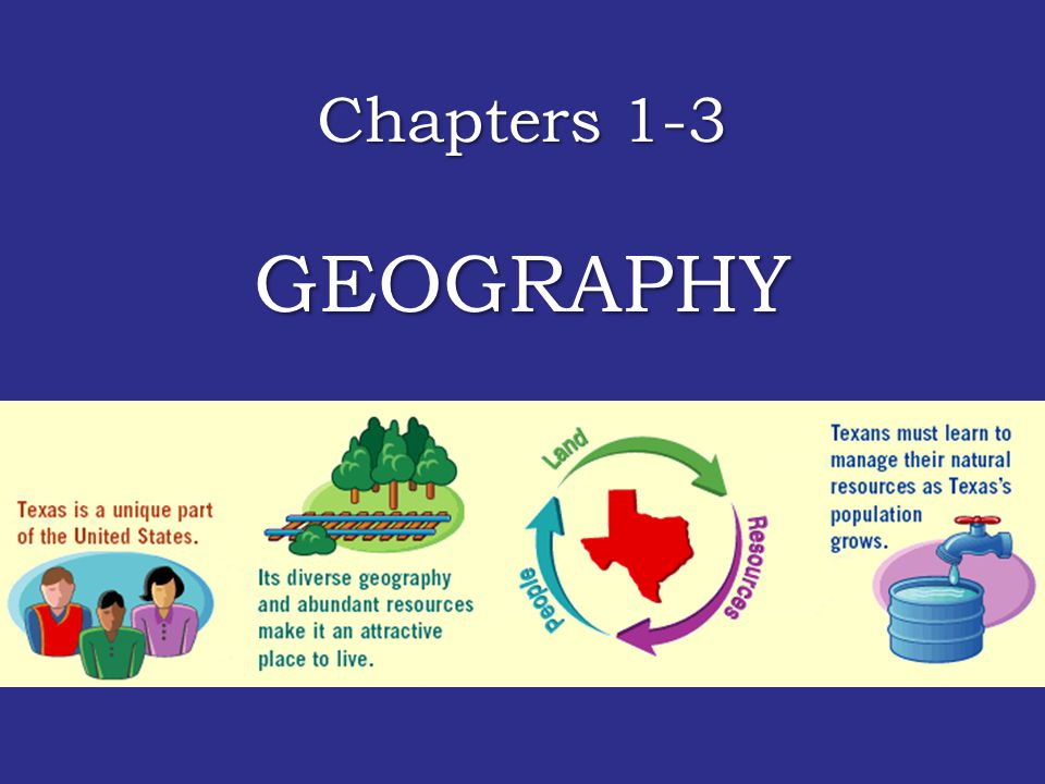 Chapters 1-3 GEOGRAPHY