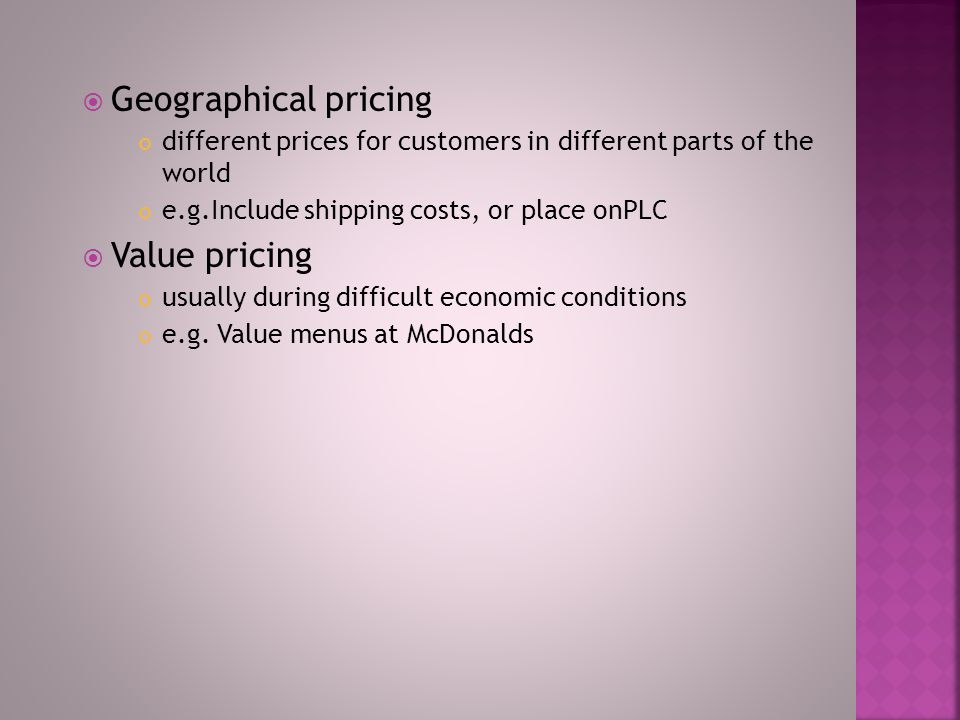  Optional product-pricing e.g.