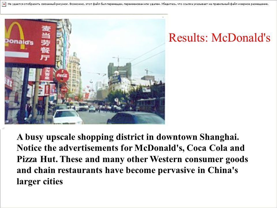 A busy upscale shopping district in downtown Shanghai.