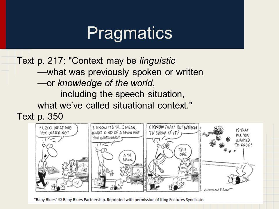 Pragmatics Text p.