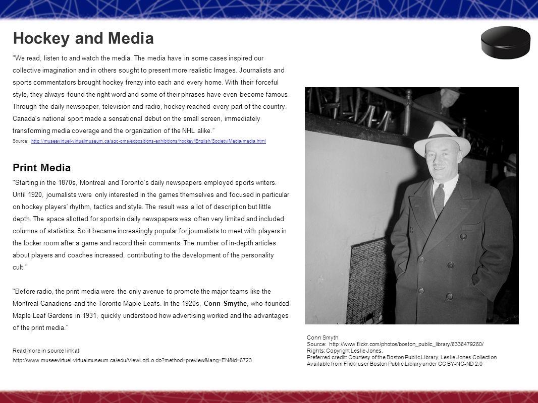 Hockey and Media