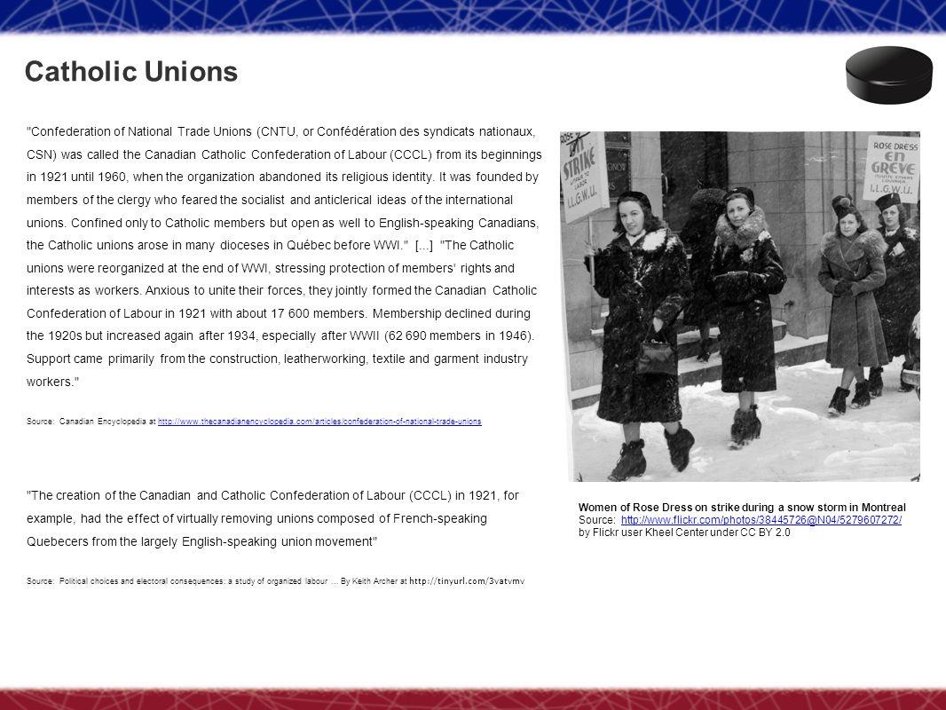 Catholic Unions