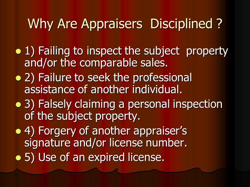 When do Appraisers get Sued? Average of 18 to 48 months after the appraisal. Average of 18 to 48 months after the appraisal. If there is a buyer defec