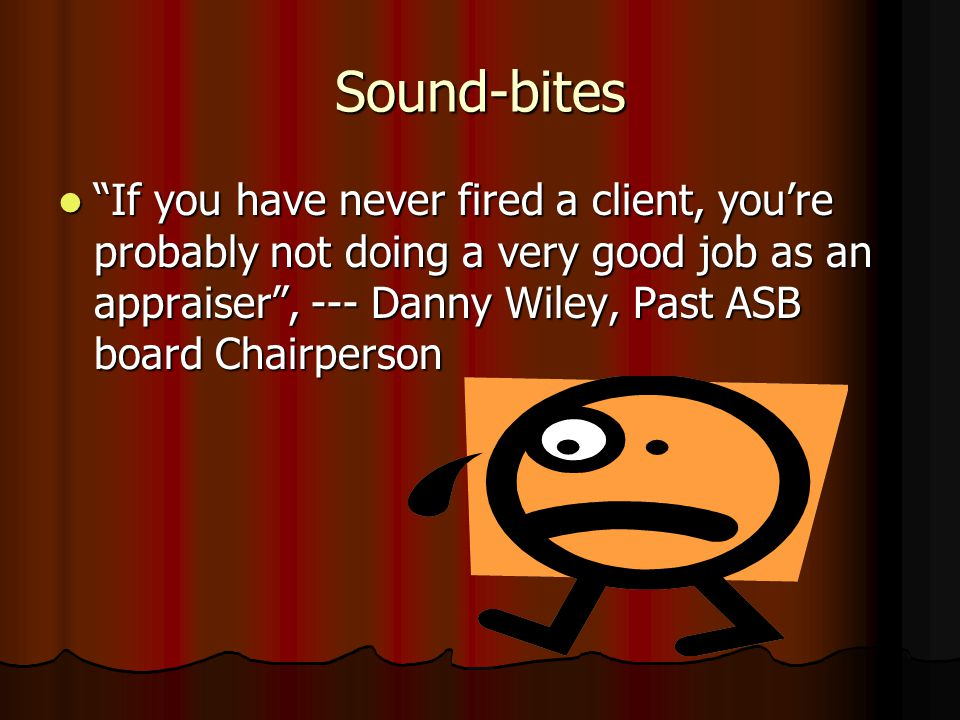 "Sound-bites from the ""Valuation Fraud Symposium"" Sponsored by The Appraisal Foundation (TAF)"