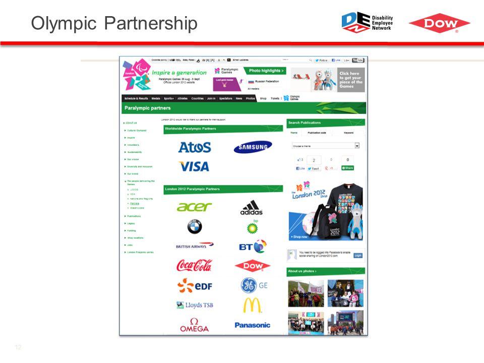 12 Olympic Partnership