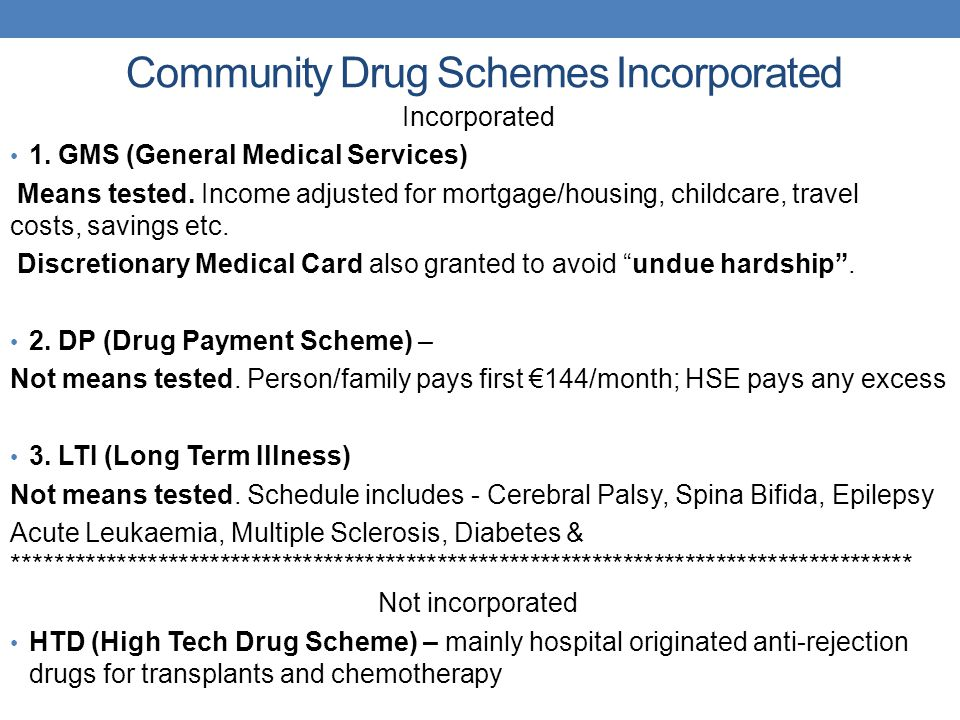 Community Drug Schemes Incorporated Incorporated 1.