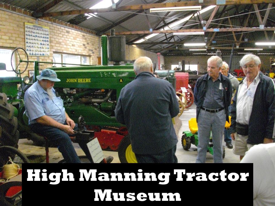 High Manning Tractor Museum