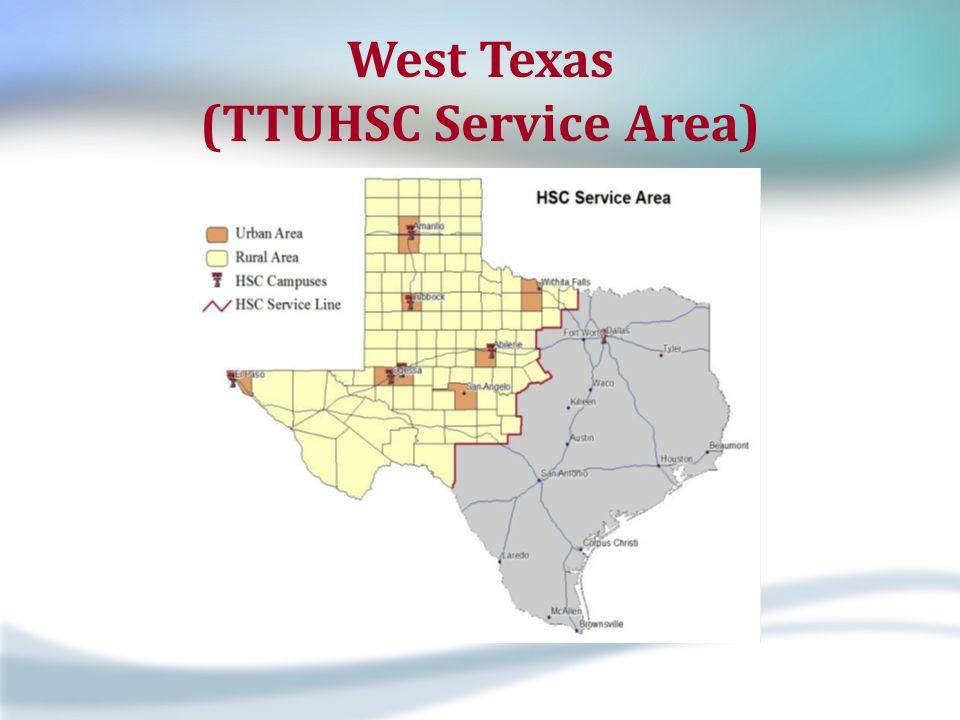West Texas (TTUHSC Service Area)