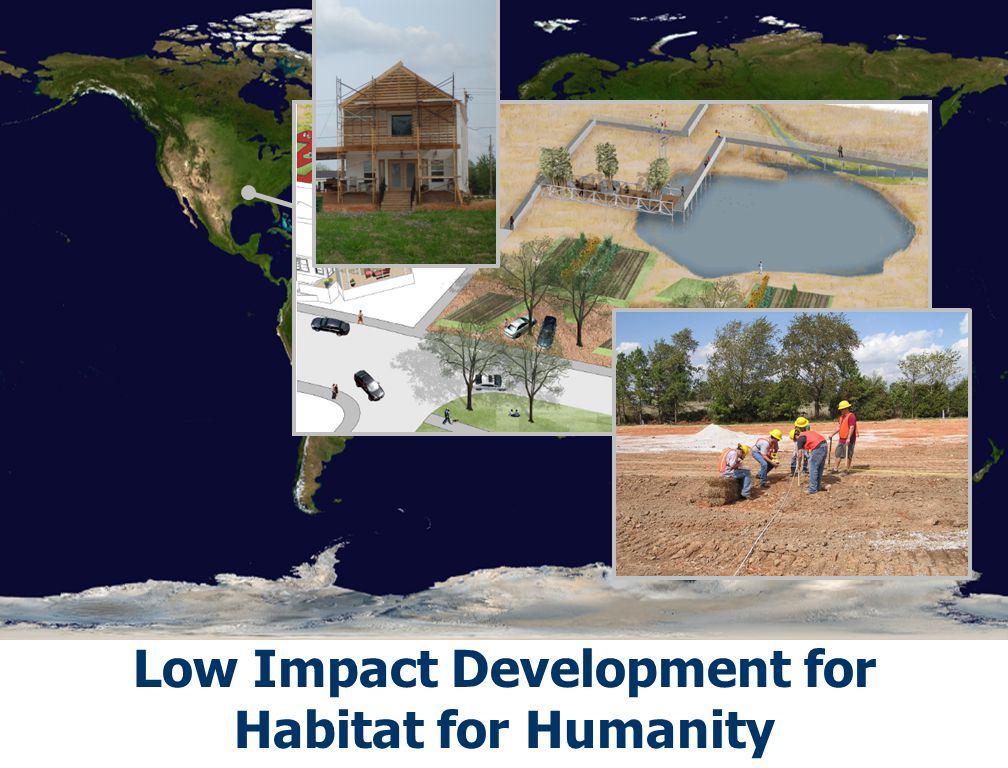 Source: NASA Low Impact Development for Habitat for Humanity