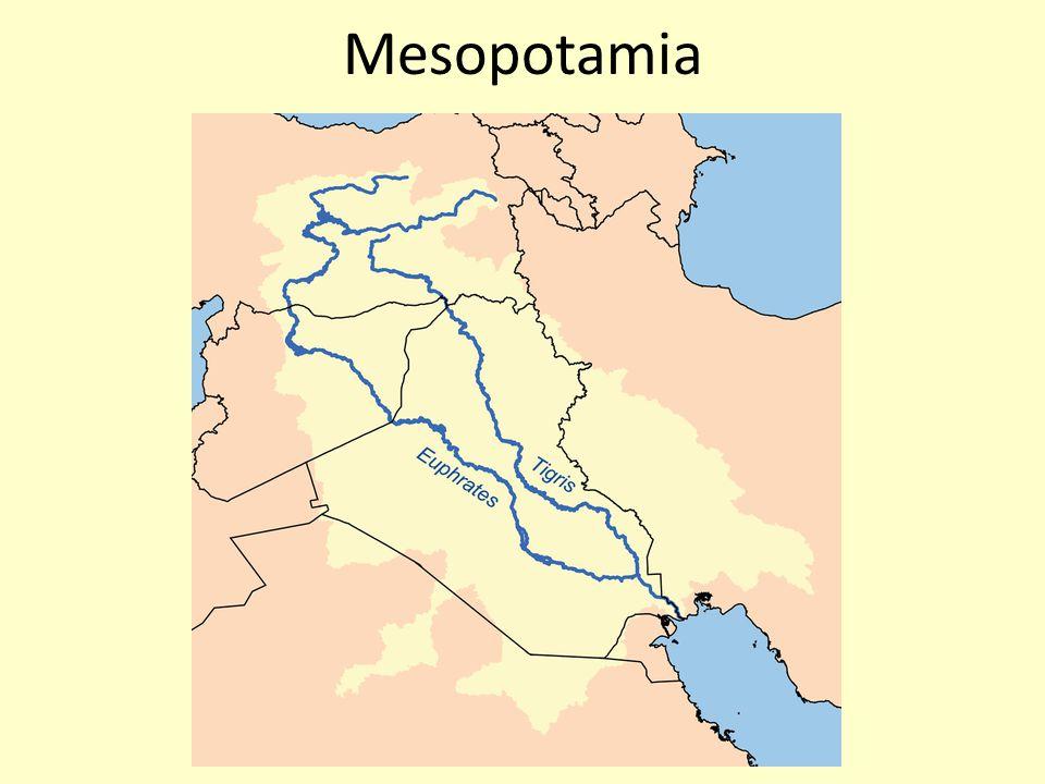Mesopotamia on a Modern Map