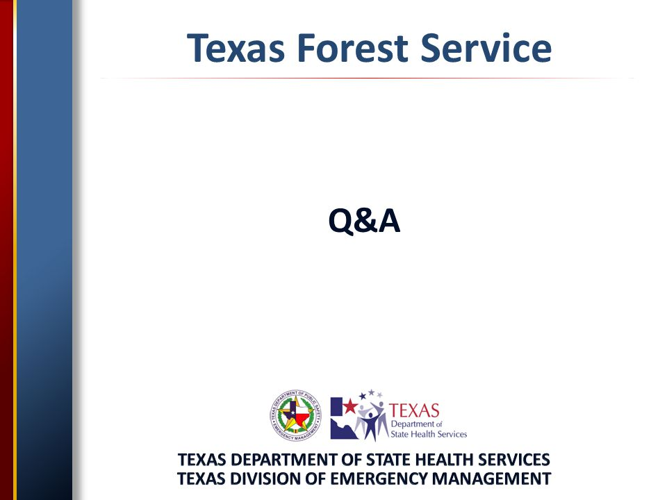Texas Forest Service Q&A