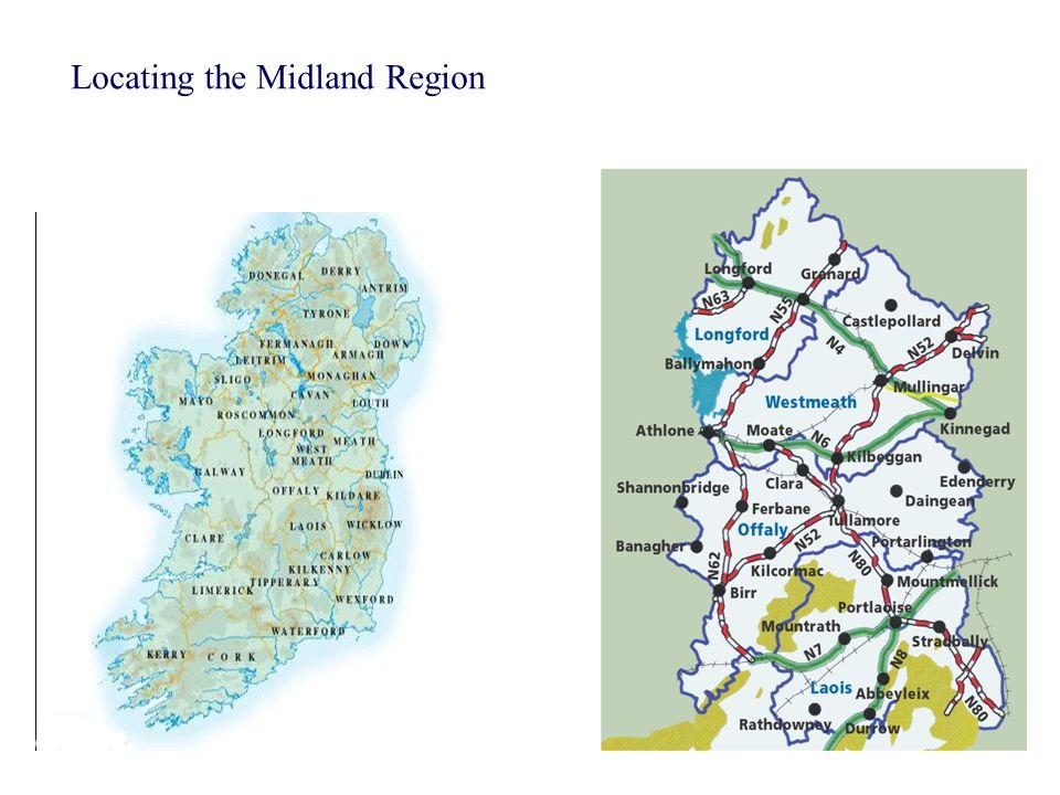 Locating the Midland Region