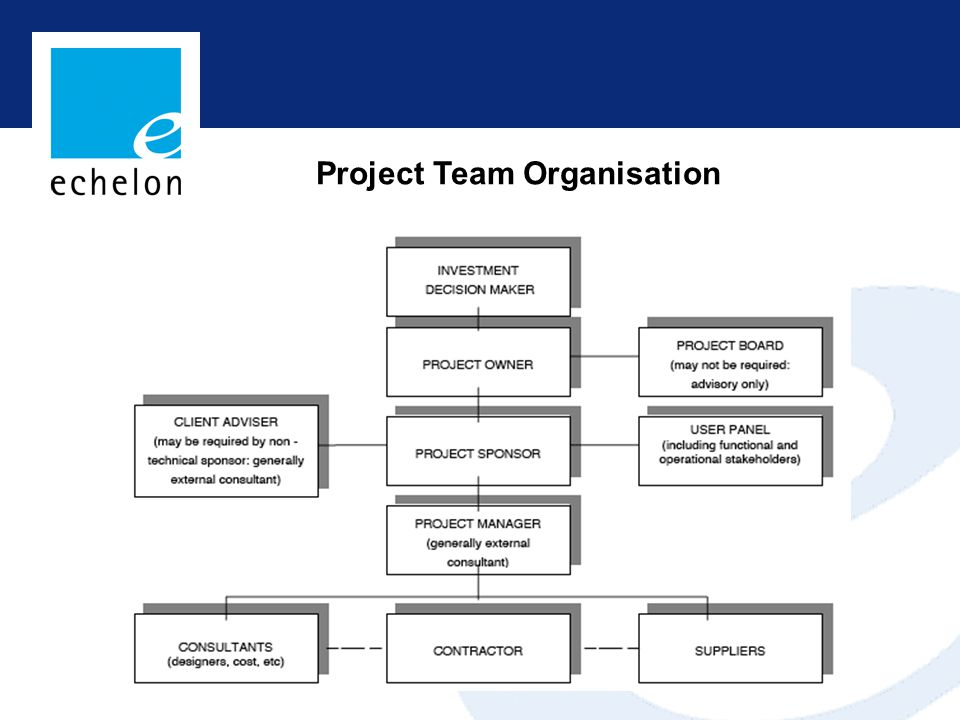 Project Team Organisation