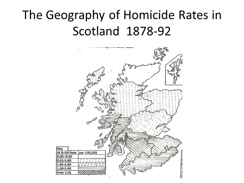 The Geography of Homicide Rates in Scotland 1878-92