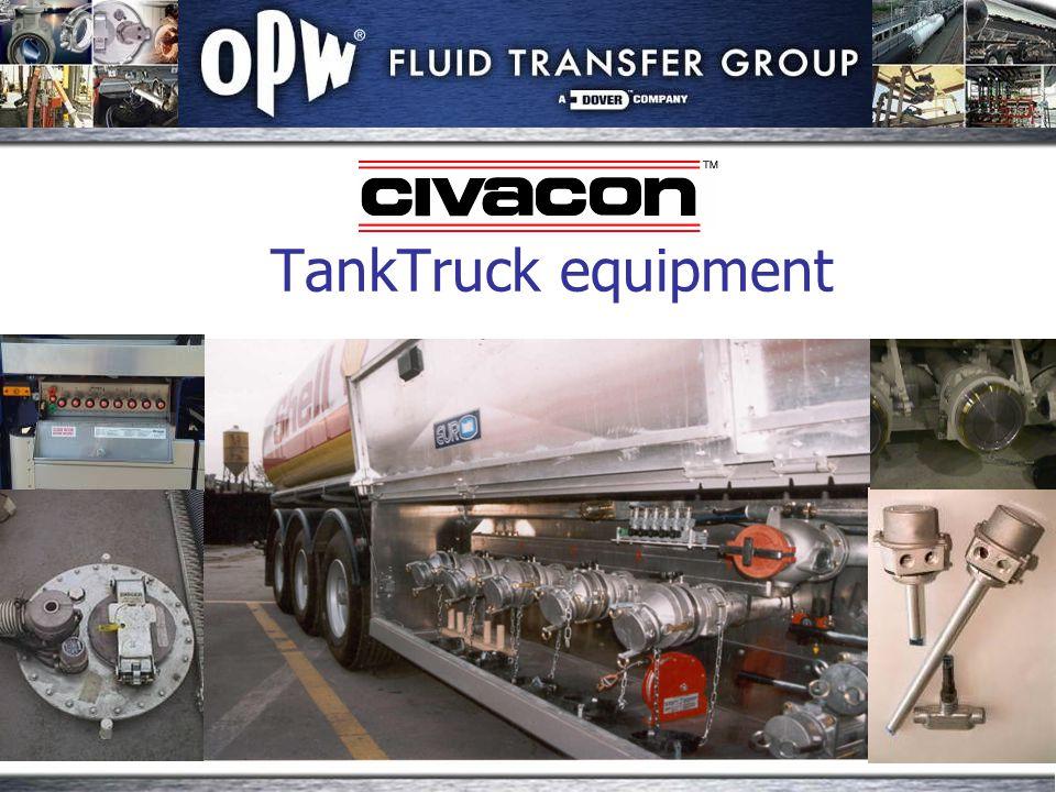 TankTruck equipment