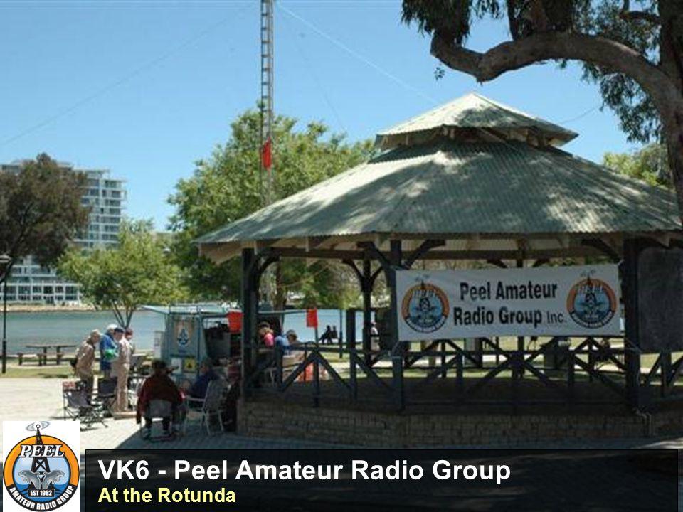VK3BSP – Southern Peninsula Amateur Radio Club John VK3BJR in QSO with Marsha Thompson - Graeme VK3TGA logging
