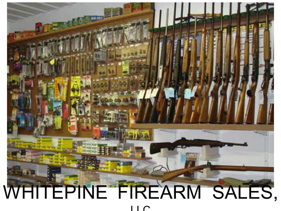 WHITEPINE FIREARM SALES, LLC