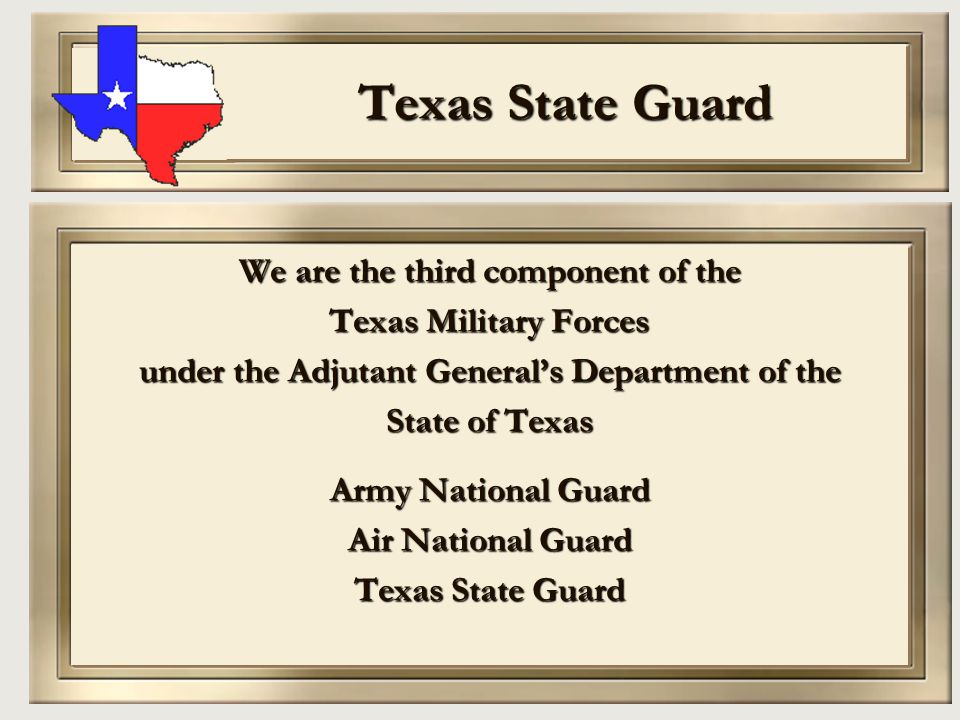 Originally constituted during World War II 10 FEB 1941 Defense Act (H.B.