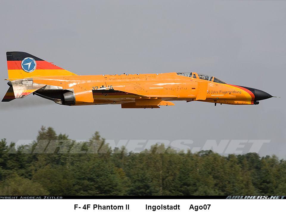 F- 4F Phantom II Ingolstadt Ago07
